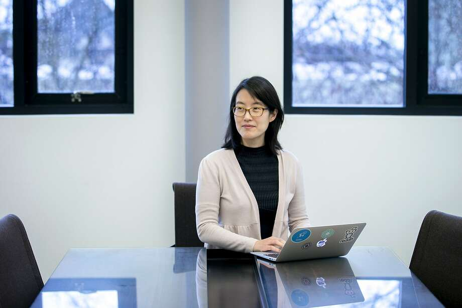 Ellen Pao at the Kapor Center on Tuesday, Jan. 10, 2017, in Oakland, Calif. Pao is the center's new chief diversity and inclusion officer, as well as a venture partner at Kapor Capital. Photo: Santiago Mejia, The Chronicle