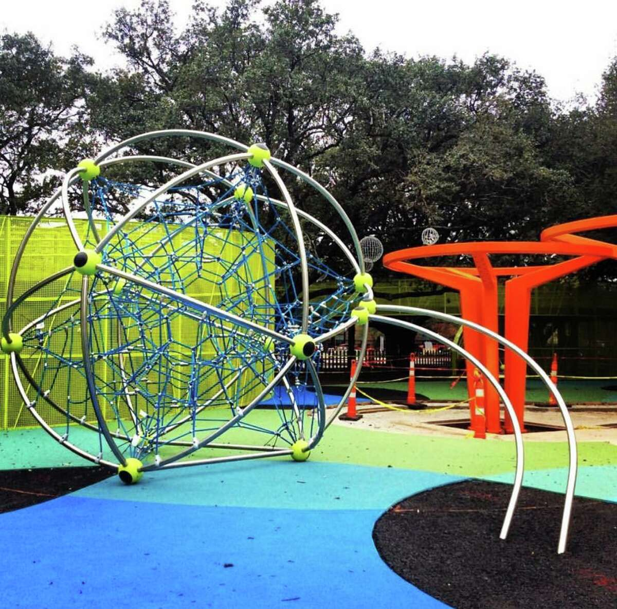 Levy Park Where: 3801 Eastside St.  Upper Kirby's Levy Park is Houston's newest family friendly attraction. Officially open as of late February, it features numerous water features and an modern, colorful playground for kids. Soon, free concerts will be hosted at the park's pavilion.