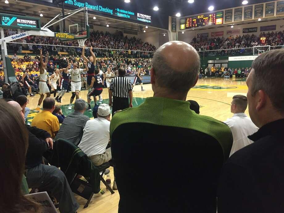 USF Senior Associate Athletic DirectorFrank Allocco Sr. Photo: Beth Spotswood