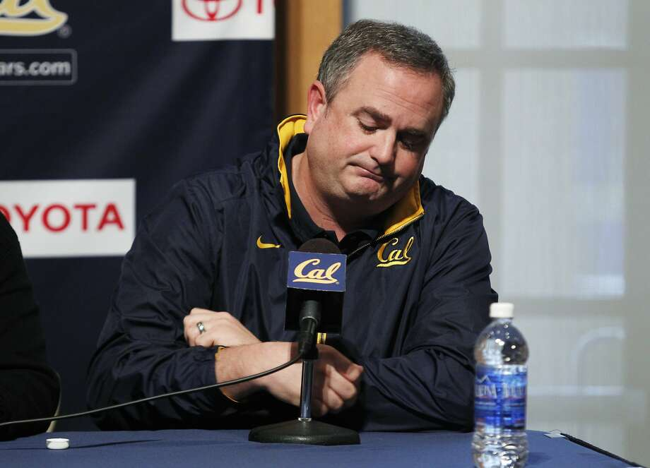 Sonny Dykes, Cal's head football coach, didn't deliver enough wins, and, it follows, enough season ticket sales or renewals. Photo: Beck Diefenbach, Special To The Chronicle