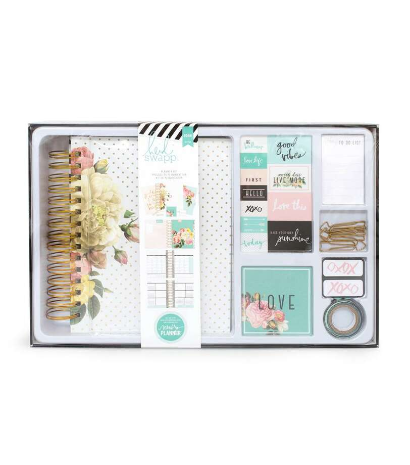 Heidi Swapp Memory Planner kit, available at Jo-Ann Fabric and Craft Stores. Photo: Courtesy Photo