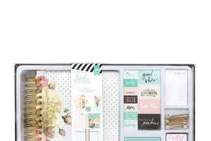 Heidi Swapp Memory Planner kit, available at Jo-Ann Fabric and Craft Stores.