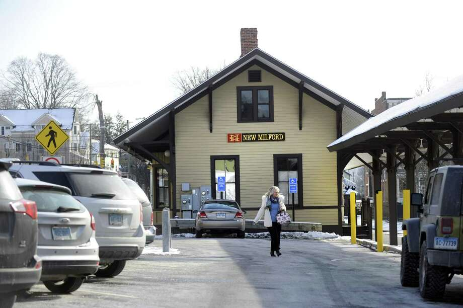 A local arts group is upset with Mayor David Gronbach's plan to stop allowing some public events to be held at the town's former railroad station. Photo: Carol Kaliff / Hearst Connecticut Media / The News-Times