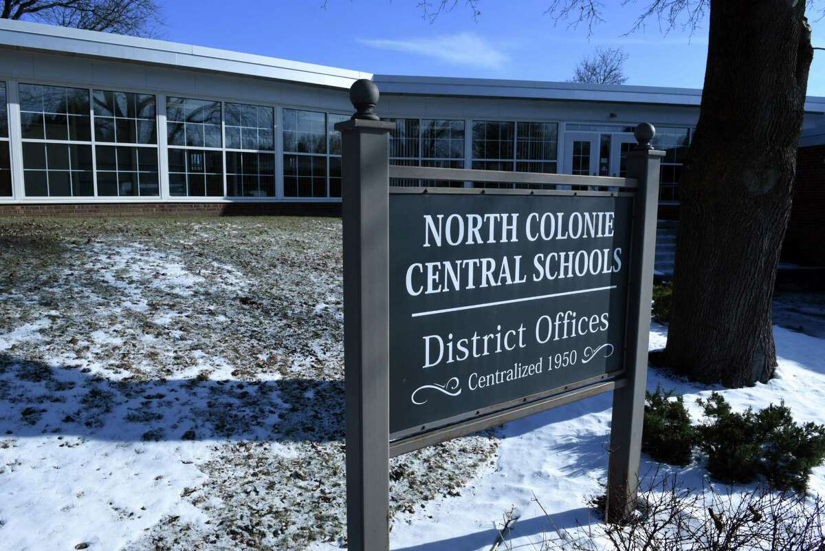 The building for kindergarten through third-grade students at Boght Hills Elementary School was closed Thursday, the day after a fire in the building, North ColonieCentral School District officials said. (Will Waldron/Times Union)