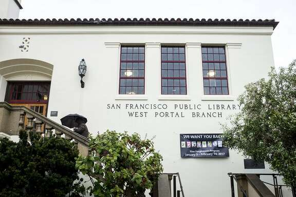 A man heads into the West Portal Branch of the San Francisco Public Library on Tuesday, Jan. 10, 2017 in San Francisco, Calif. The library is attempting to combat a lack of diversity in publishing by advocating for diverse literature.
