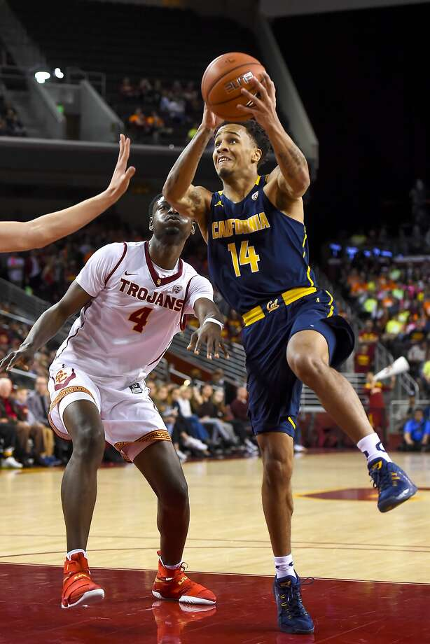 Cal reserve guard Don Coleman (14) averaged 13.5 points per game in last weekend's road trip to UCLA and USC. Photo: Gus Ruelas, Associated Press