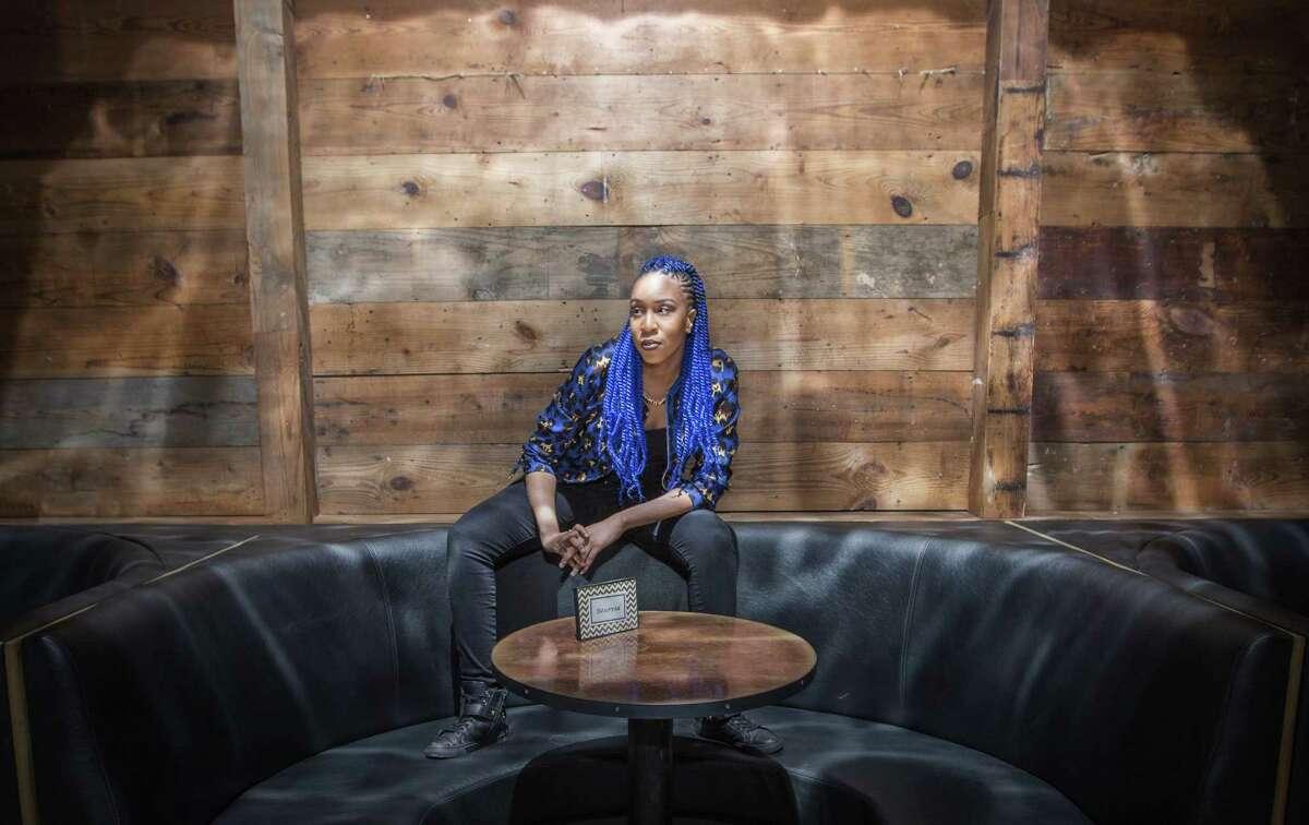 Hip-hop artist Genesis Blu.
