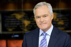 """Scott Pelley, who was born in San Antonio, anchors the CBS Evening News and is a correspondent for """"60 Minutes."""""""