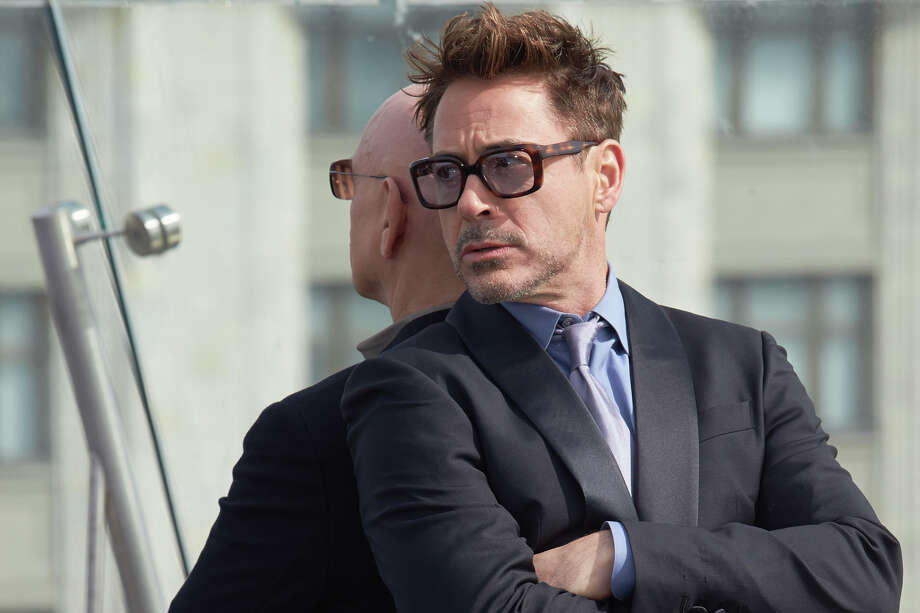 PHOTOS: Celebrities who have visited the Moscow Ritz-Carlton (besides allegedly Donald Trump)Actors Robert Downey Jr. and Sir Ben Kingsley attend a photocall on the roof of The Ritz Carlton hotel during the Russia Tour for Iron Man 3 on April 10, 2013 in Moscow, Russia.  (Photo by Oleg Nikishin/Epsilon/Getty Images)See who else has been spotted at the Moscow Ritz-Carlton ... Photo: Epsilon/Getty Images