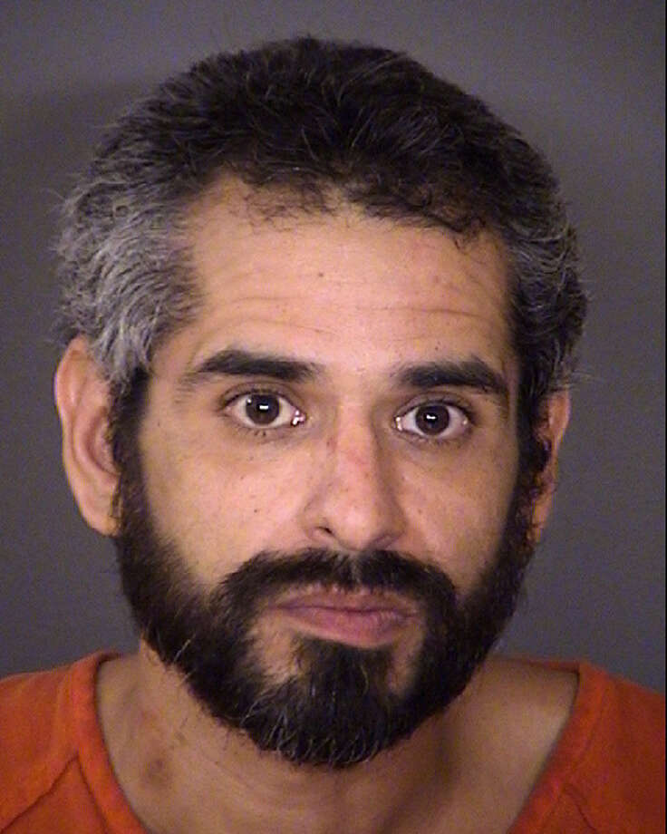 Raul Garza III, 40, was arrested after he allegedly shot a 36-year-old man to death Jan. 3 during a fight about money. Photo: Bexar County Jail
