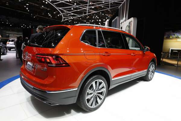 DETROIT, MI - JANUARY 10: The all-new Volkswagen Tiguan is shown at the 2017 North American International Auto Show (NAIAS) on January 10, 2017 in Detroit, Michigan. Approximately 5000 journalists from around the world and nearly 800,000 people are expected to attend the NAIAS between January 8th and January 22nd to see the more than 750 vehicles and numerous interactive displays. (Photo by Bill Pugliano/Getty Images)
