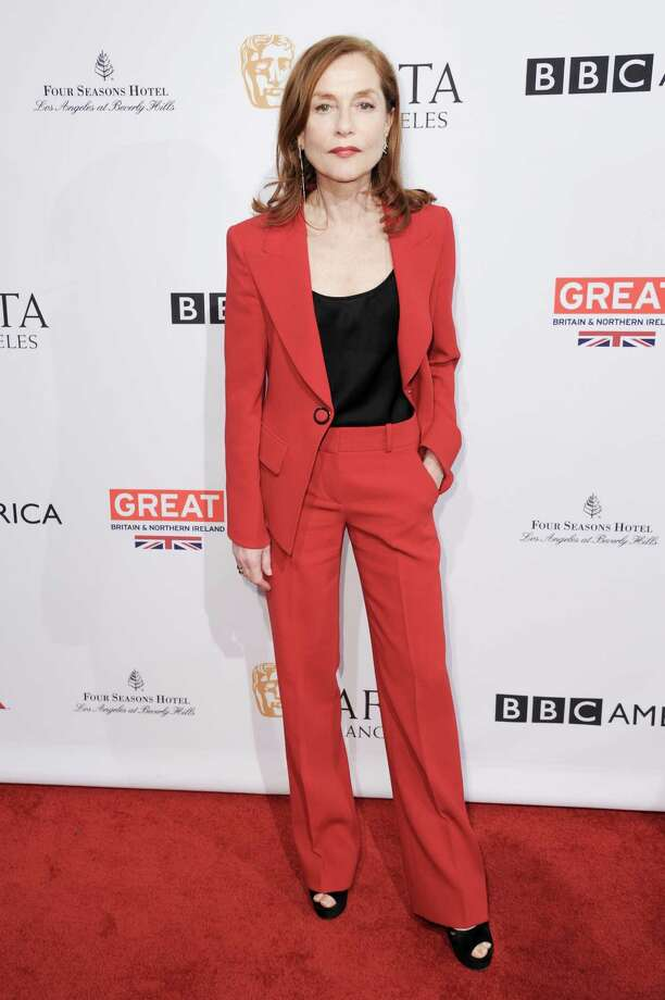 Isabelle Huppert attends the 2017 BAFTA Los Angeles Awards Season Tea Party held at Four Seasons Hotel on Saturday, Jan. 7, 2017, in Los Angeles. (Photo by Richard Shotwell/Invision/AP) ORG XMIT: CAPS131 Photo: Richard Shotwell / 2017 Invision