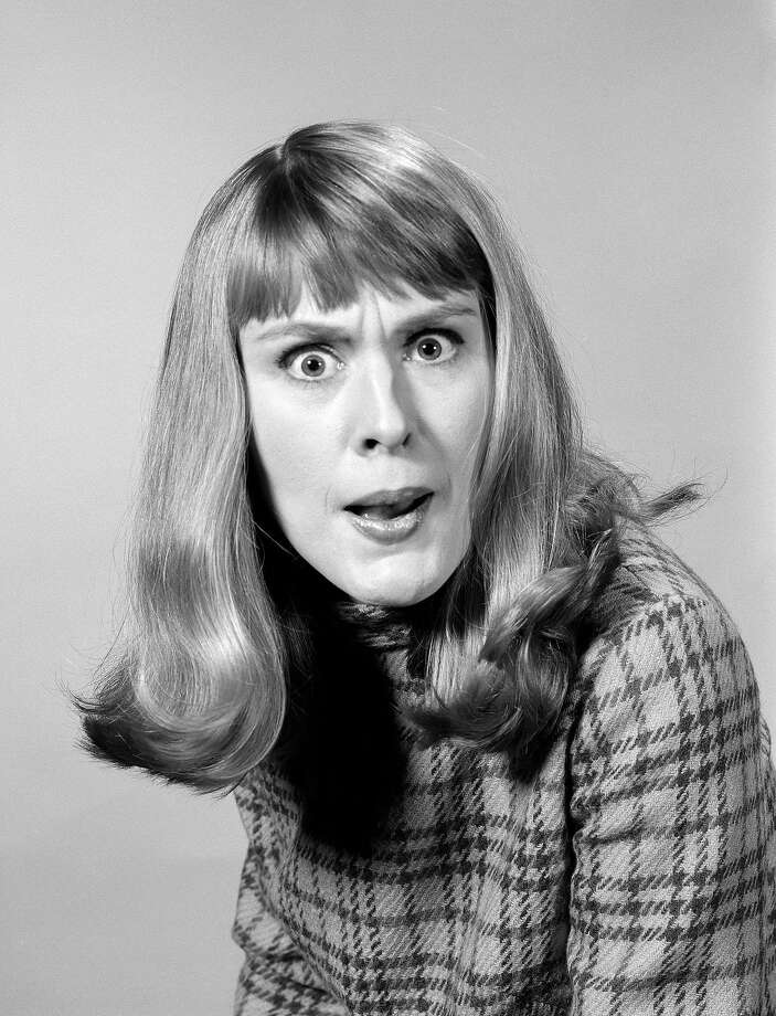 1960s HEAD SHOT ANGRY WOMAN LOOKING AT CAMERA  (Photo by H. Armstrong Roberts/ClassicStock/Getty Images) Photo: H. Armstrong Roberts/ClassicStock, Getty Images