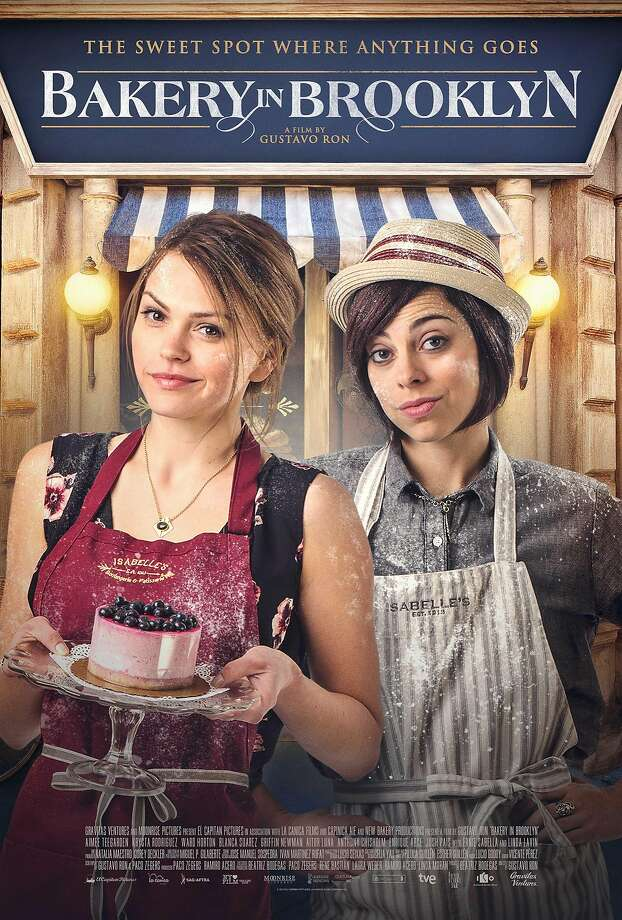 """Bakery in Brooklyn"" stars Aimee Teegarden (left) and Krysta Rodriguez. Photo: Courtesy Of Gravitas Ventures"
