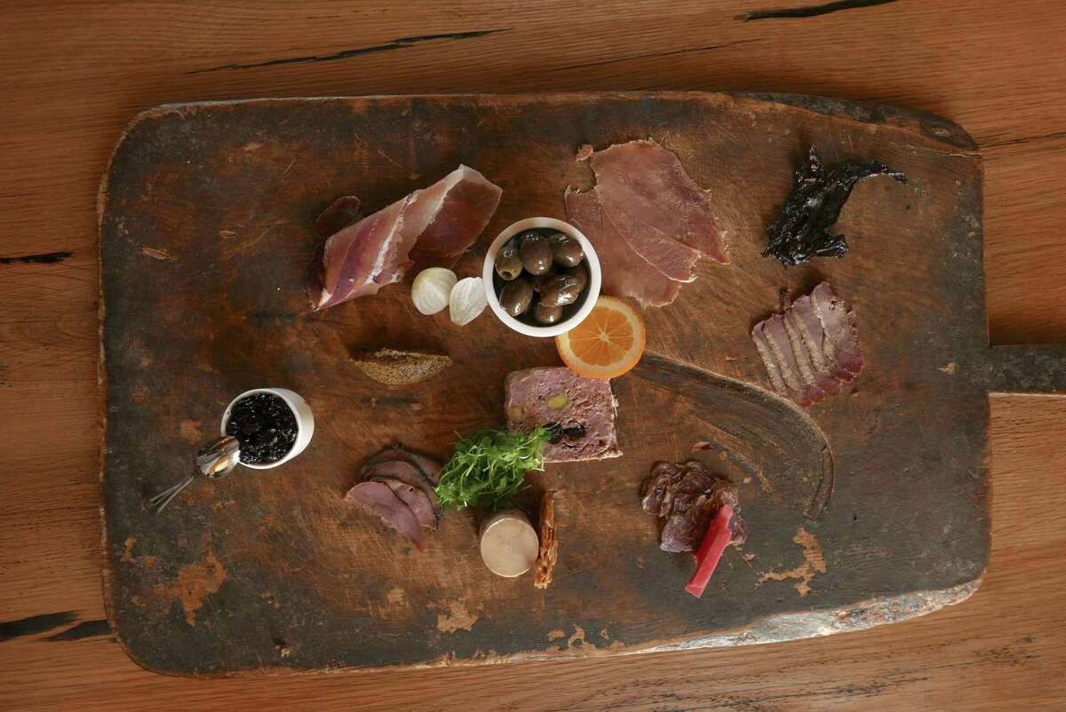 A five-piece charcuterie board from Signature.