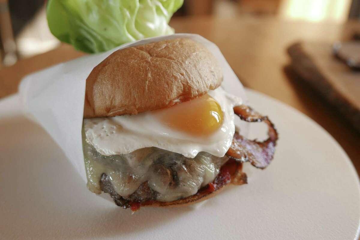 Signature's Wagyu burger.