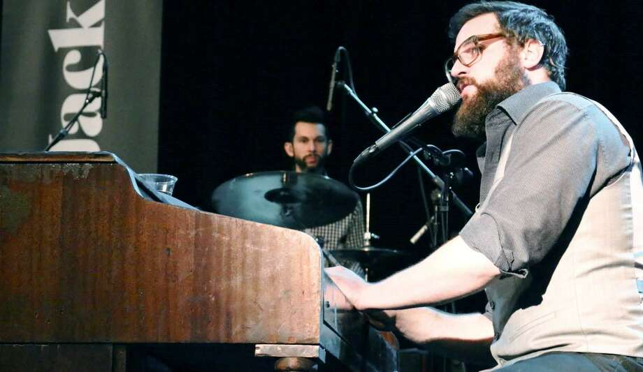 Singer-songwriter Lucas Jack, a piano man in the tradition of Billy Joel, is playing Liberty Bar. Photo: Courtesy Photo