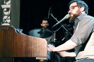 Singer-songwriter Lucas Jack, a piano man in the tradition of Billy Joel, is playing Liberty Bar.