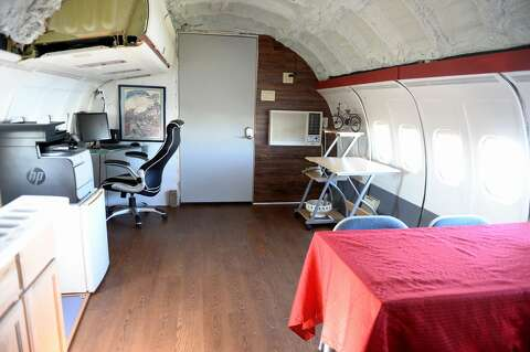 This airplane house in Texas is the owner's childhood dream