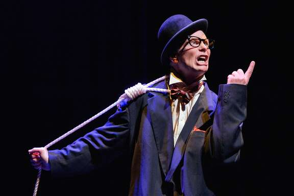 "Bill Irwin in ""On Beckett"" at ACT's Strand Theater"