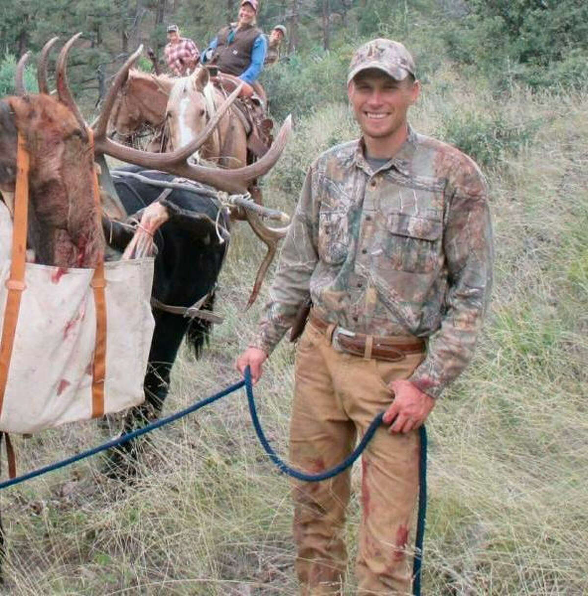 The incident Hunting guide Walker Daugtery and two other men were shot earlier this month while on a trip near Candelaria in Presidio County in West Texas. They told the story of an attack by immigrants trying to steal their RV. The local sheriff debunked the story, saying there's evidence that the hunters shot each other.