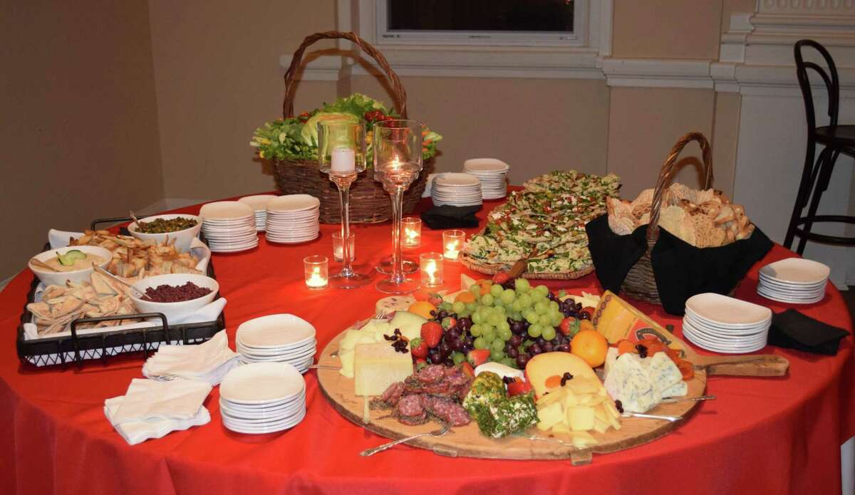 Guests of the Water Witch Hose Co. #2's annual dinner had an opportunity to select from array of colorful hors d'oeuvres. The event was held at the United Bank Building at 19 Main St. in New Milford Jan. 6 2017.