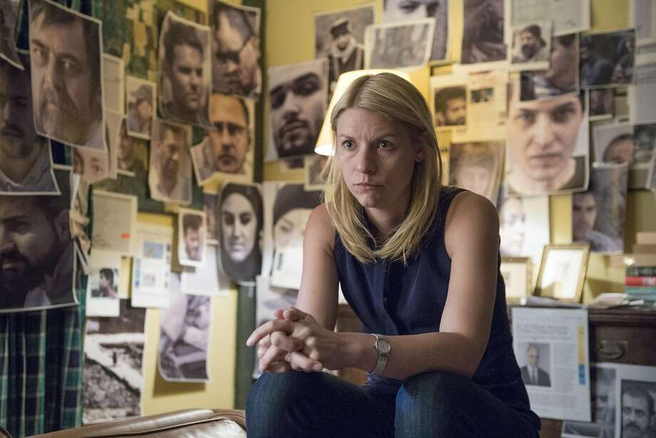 "Claire Danes in ""Homeland,"" which airs on Showtime. Photo: Stephan Rabold, Showtime"