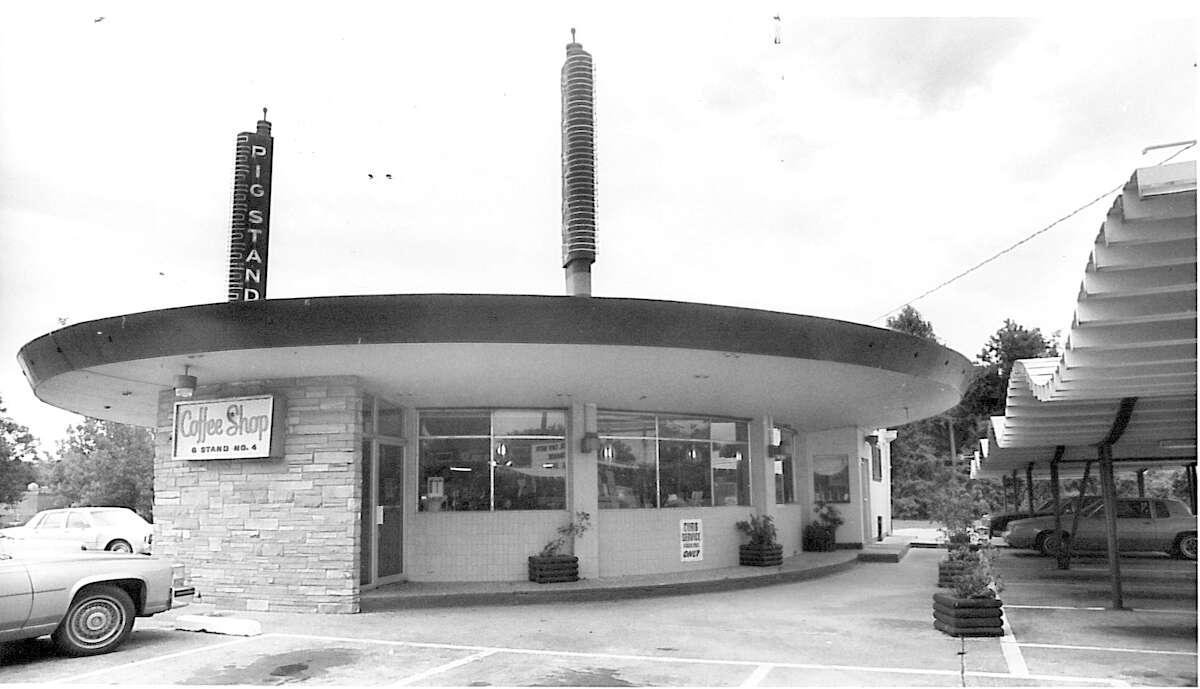 The Pig Stand on Calder Avenue. Enterprise archive photo