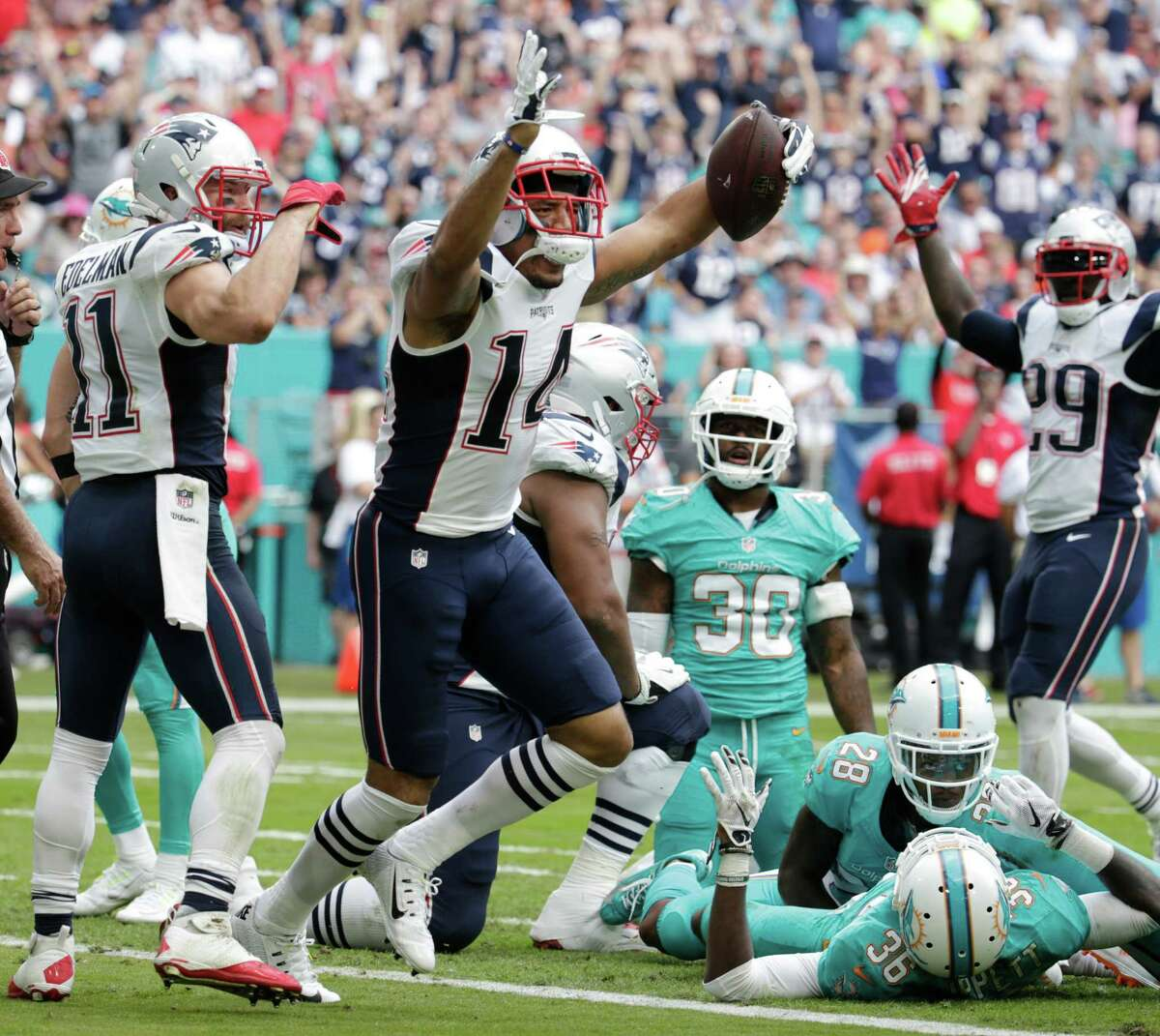 Michael Floyd has scored one touchdown in two games since joining the Patriots after being released by the Cardinals.