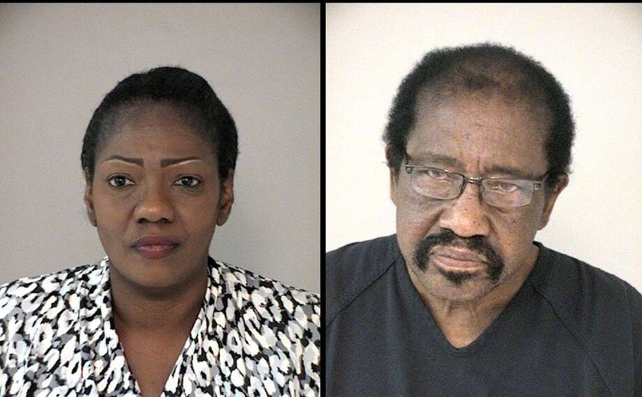 Booking photos taken of Paula Sinclair, 54, and Allen Richardson, 78, after their arrest on Dec. 3, 2016. Photo: Fort Bend County Sheriffs Office