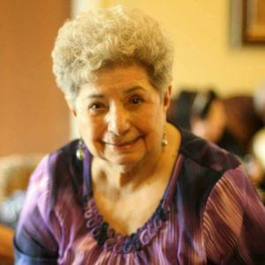 Rosa Aurora Guajardo did the books and worked the cash register at the family store. Photo: Courtesy