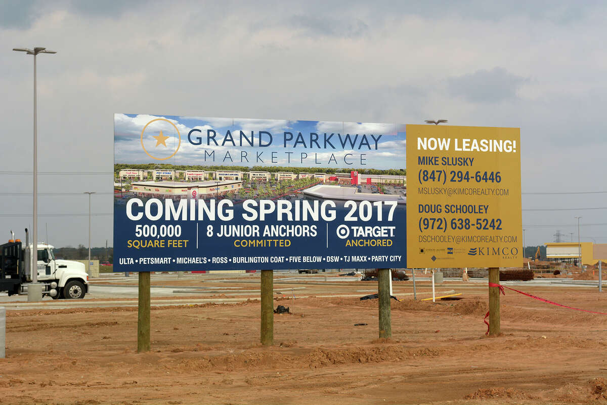 Construction has begun on the Grand Parkway Marketplace I, located at Spring Stuebner and the Grand Parkway with a target opening in spring 2017. See how big Texas 99 really is
