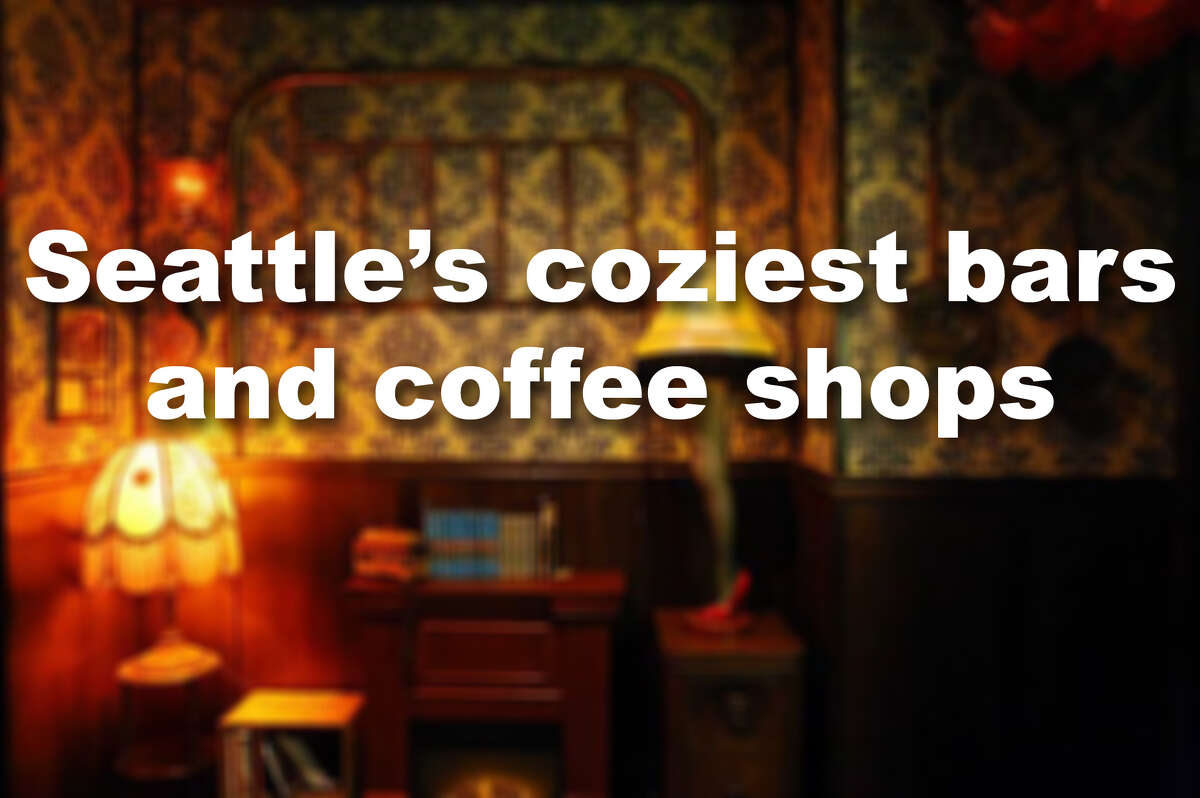 Check out our picks for Seattle's coziest bars and coffee shops for refuge during these cold, dreary days.