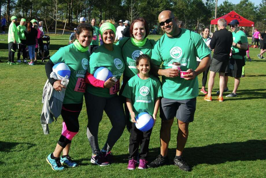 Participants of the second annual 2016 Cleft Smiles 5K Family Fun Run and Walk event. Photo: Courtesy Cleft Smiles