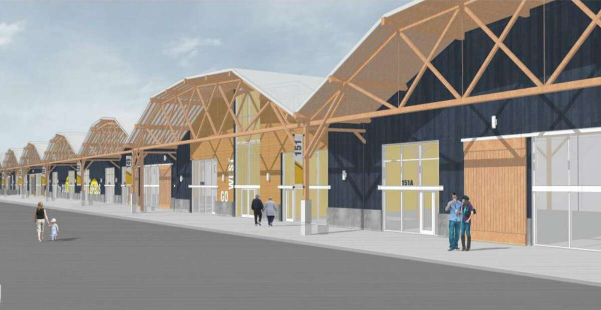 Mockups for the renovated Mare Island Brewing Co.\ (Courtesy Mare Island Brewing Co.)