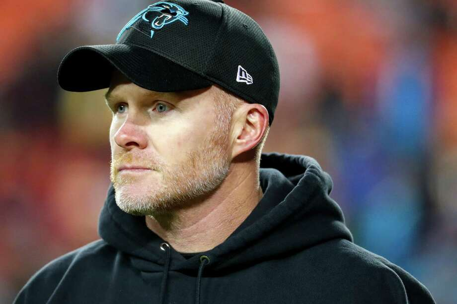 FILE - In this Dec. 19, 2016, file photo, Carolina Panthers defensive coordinator Sean McDermott walks across the field before an NFL football game against the Washington Redskins, in Landover, Md. A person with direct knowledge of the decision tells The Associated Press the Buffalo Bills have reached an agreement to hire Sean McDermott to be their next head coach. The person spoke to The AP on the condition of anonymity because the Bills have not announced the decision. The deal was reached Wednesday, Jan. 11, 2017, shortly after the Bills interviewed McDermott for a second time in eight days. (AP Photo/Alex Brandon, File) ORG XMIT: NY179 Photo: Alex Brandon / Copyright 2016 The Associated Press. All rights reserved.