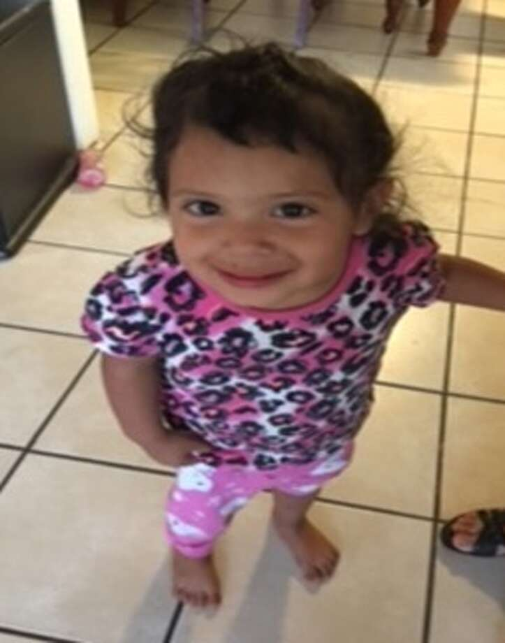 Aaliyah Frausto is 3 years old, 2-foot-6 and 30 pounds.