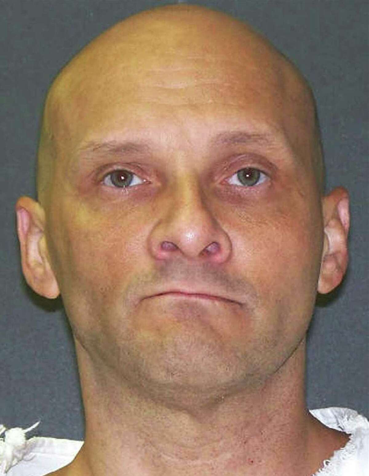 This handout photo courtesy of the Texas Department of Criminal Justice in Austin, Texas shows death row inmate Christopher Wilkins. Texas prison authorities were preparing January 11, 2017 to carry out the first US execution of 2017, as controversy continued to swirl around the drugs used to conduct such lethal injections. Christopher Wilkins, 48, is to be executed at 18H00 (0000 GMT January 12) at the Texas state penitentiary at Huntsville, barring a last-minute reprieve from the US Supreme Court. / AFP PHOTO / Texas Department of Criminal Justice / HO / RESTRICTED TO EDITORIAL USE - MANDATORY CREDIT