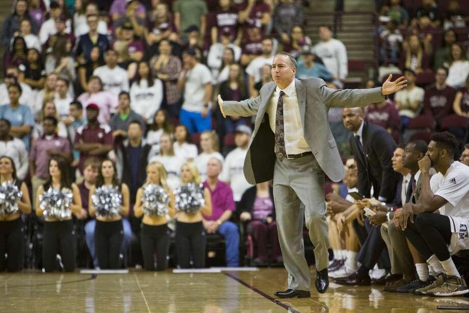 Texas A&M coach Billy Kennedy. Photo: Timothy Hurst/Associated Press