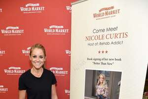 Nicole Curtis attends a book signing of her new memoir in Los Angeles, California, in November.