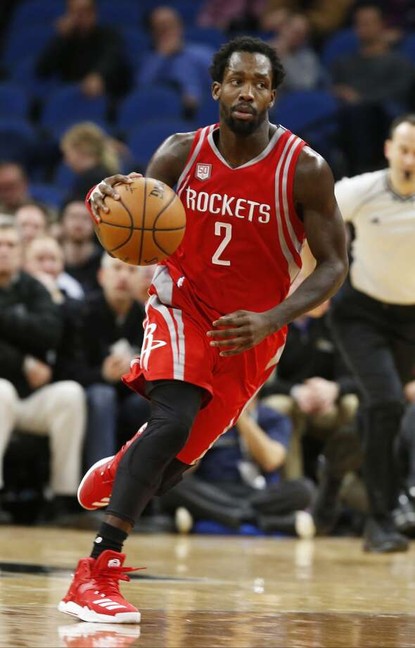Houston Rockets' Patrick Beverley plays against the Minnesota Timberwolves during the first quarter of an NBA basketball game Wednesday, Jan. 11, 2017, in Minneapolis. (AP Photo/Jim Mone) Photo: Jim Mone/Associated Press