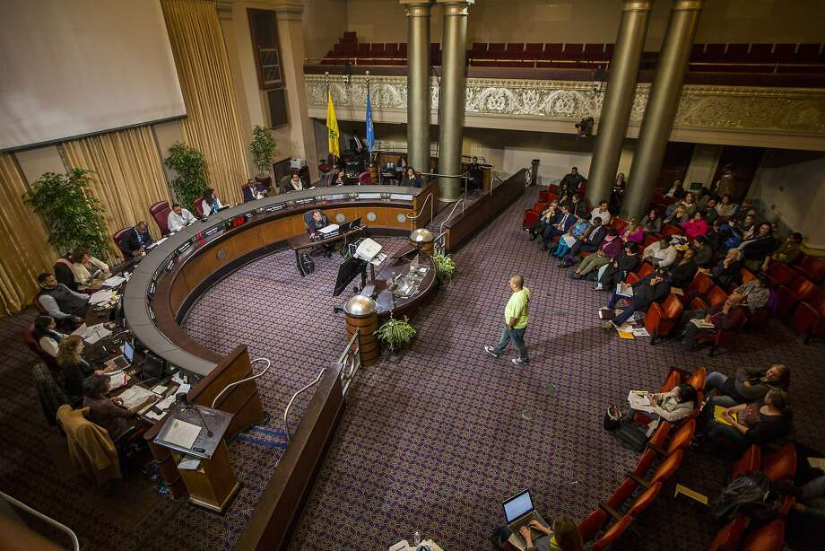 The Oakland Unified School District Board of Education. Photo: Eric Kayne, Special To The Chronicle