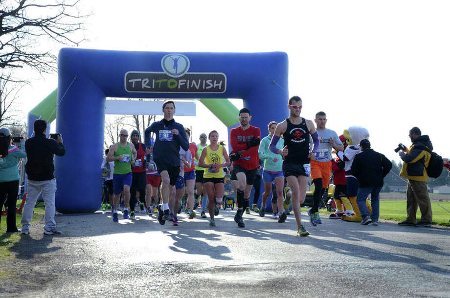 Runners take part in a previous Go the Extra Mile for Covenant Kids race in support of the infant and pediatric patients at Covenant HealthCare. Online registration is now open for the various races, which will take place April 30 at Swan Valley High School in Saginaw.