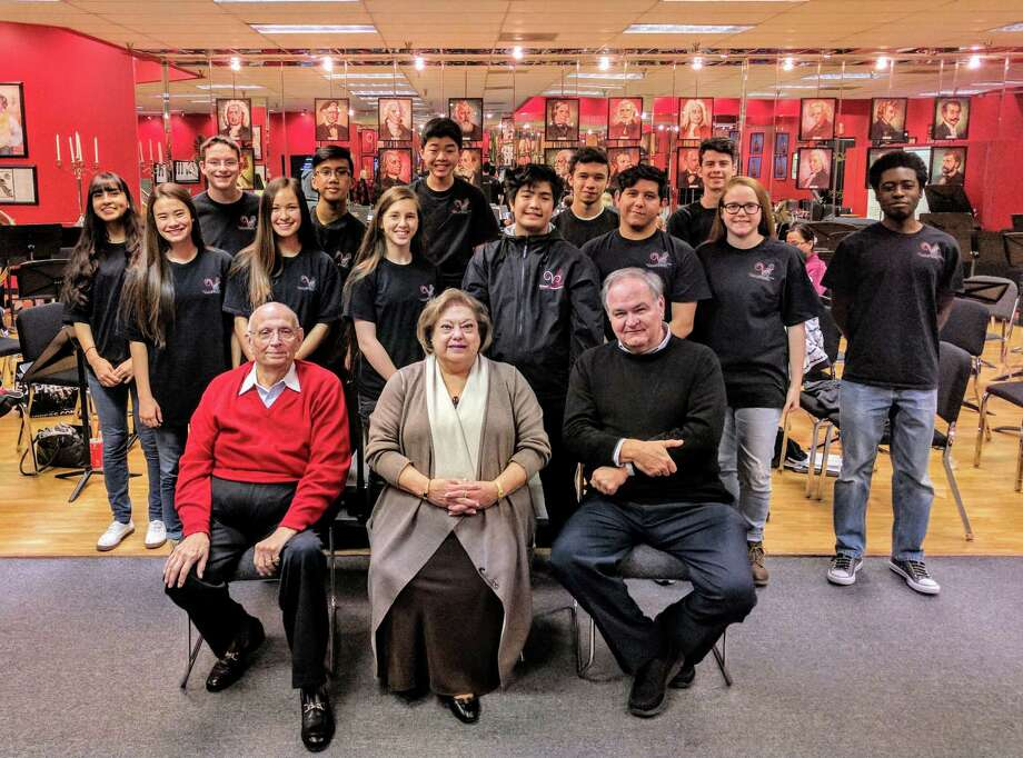 Virtuosi of Houston Small Ensemble Orchestra (13 members ages 11 to 18) have been invited to perform at two of the Presidential Inaugural events in Washington DC. Photo: Virtuosi Of Houston