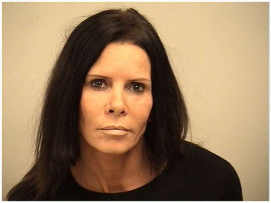 Susan Berry, 48, of Marblehead, Mass. was charged with second-degree harassment in Westport, Conn. on Jan. 4, 2017. Photo: Westport Police / Contributed Photo / Westport News