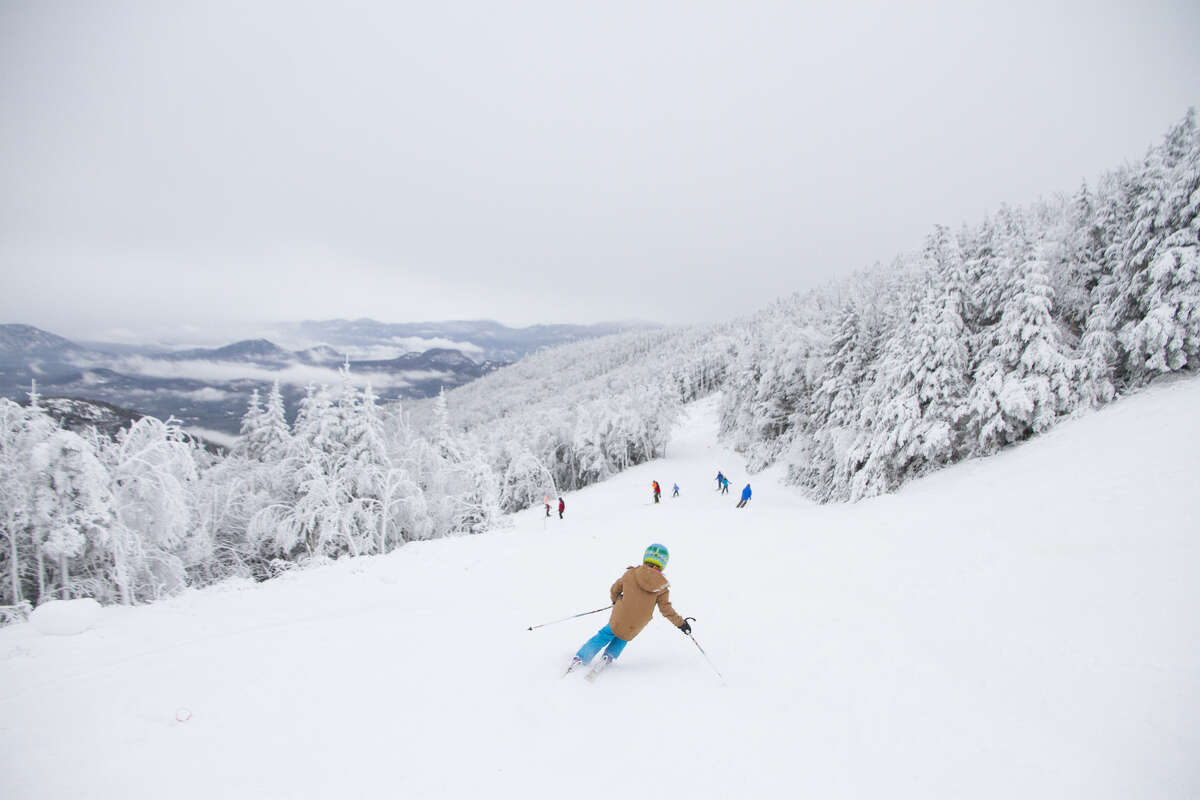 Whiteface Mountain in the Adirondacks opened for the season on Thanksgiving Day, Thursday, Nov. 24, 2016. (Olympic Regional Development Authority photo)