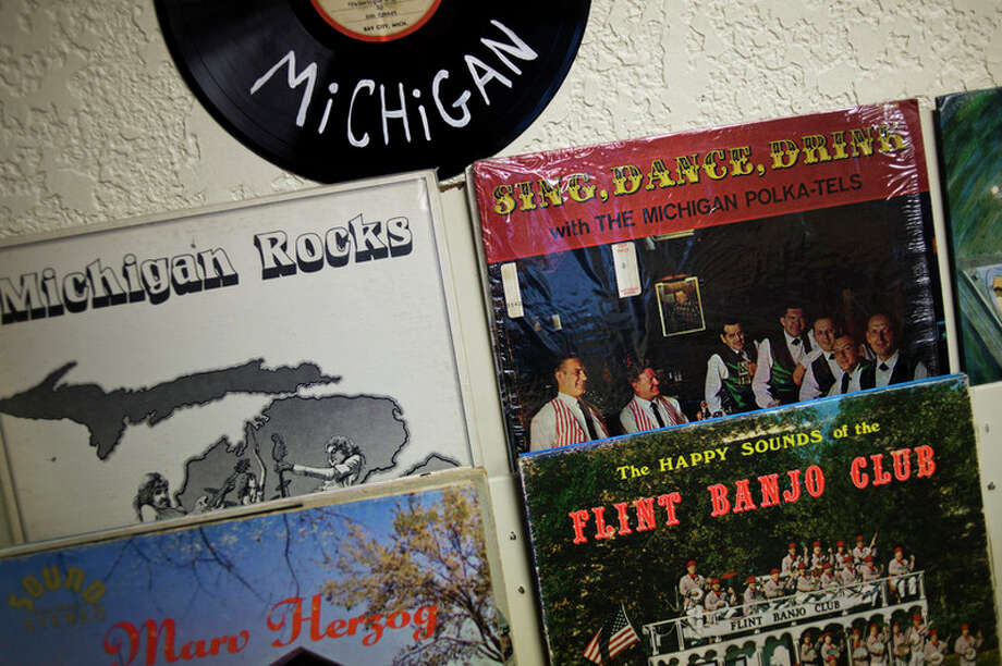 ERIN KIRKLAND | ekirkland@mdn.net The store features a special 'Made in Michigan' section on Tuesday at Radio Wasteland Records. The store will open on Friday, Jan. 13 at 10 a.m. and is located at 718 George Street.