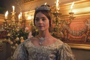 """Queen Victoria (Jenna Coleman) began her reign at the tender age of 18, as viewers will see in the first episode of the eight-part Masterpiece presentation """"Victoria"""" on PBS."""