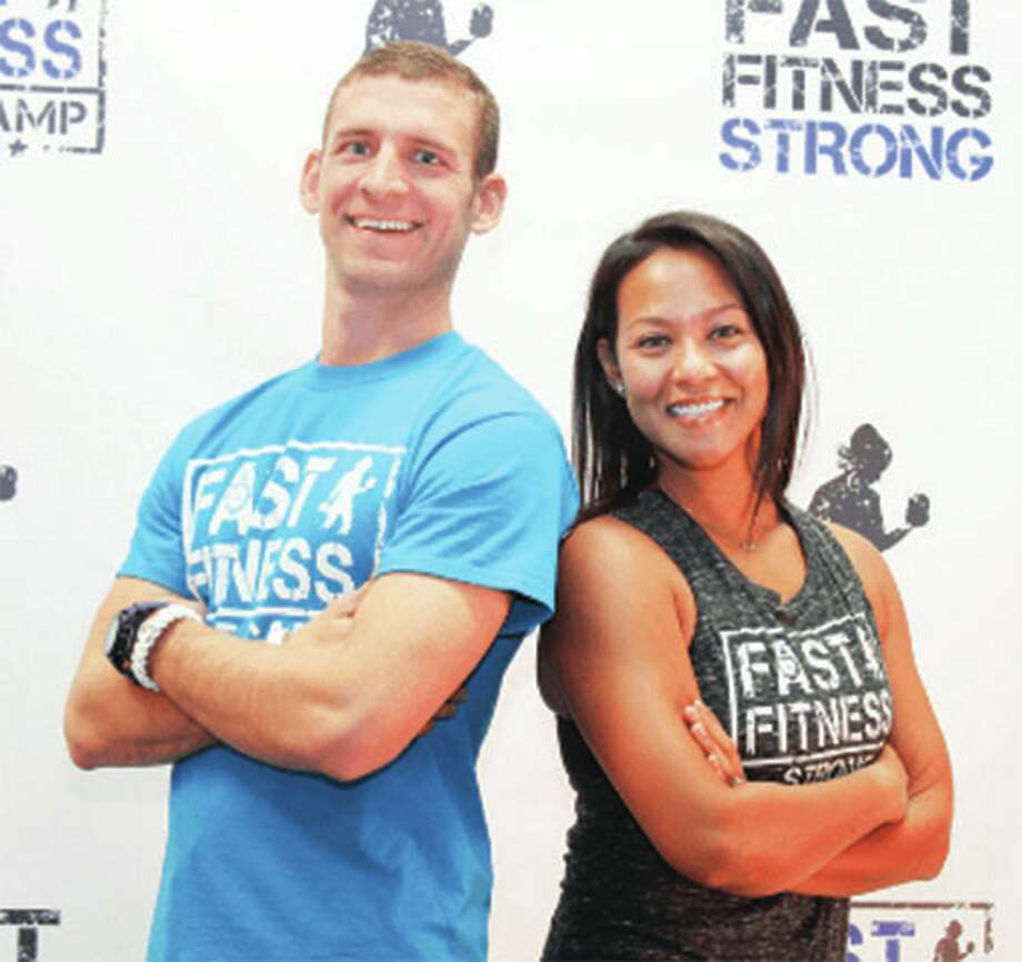 Chad and Val Skinner, owners of Fast Fitness Boot Camp, have now added a third location in Waterloo. Photo: For The Intelligencer