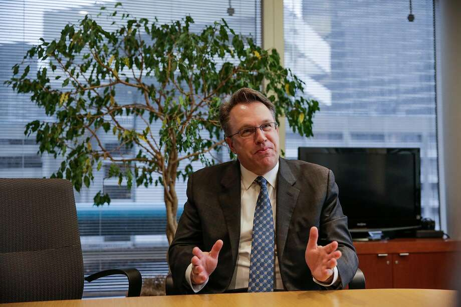 Federal Reserve Bank of San Francisco president John Williams thinks ideal GDP growth should be around 1.5 to 2 percent a year, the same modest rate the economy has been growing under the Obama Administration. Photo: Gabrielle Lurie, The Chronicle
